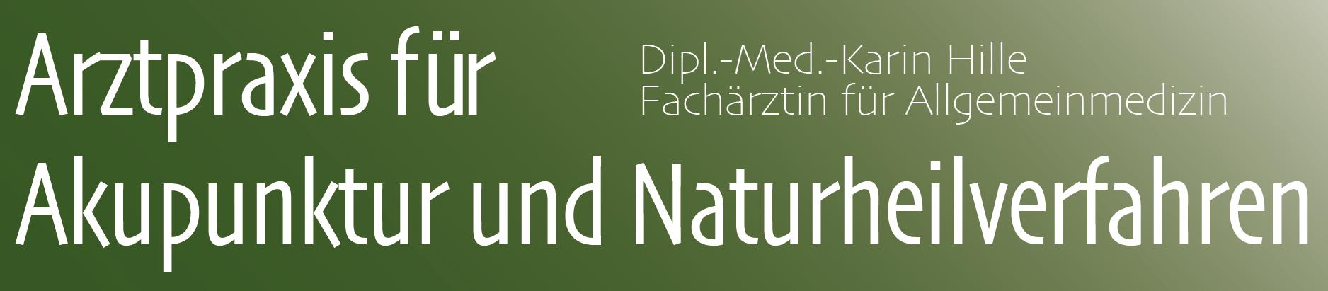 Arztpraxis für Akupunktur und Naturheilverfahren